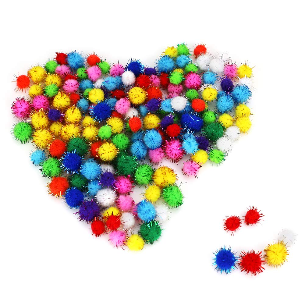 150pcs Self-Adhesive Wiggle Googly Eyes for DIY Art Craft 550Pcs N/&T NIETING 550 Pieces Pipe Cleaners Craft Set 150pcs Pipe Cleaners Including Assorted Colors 250pcs Pom Poms