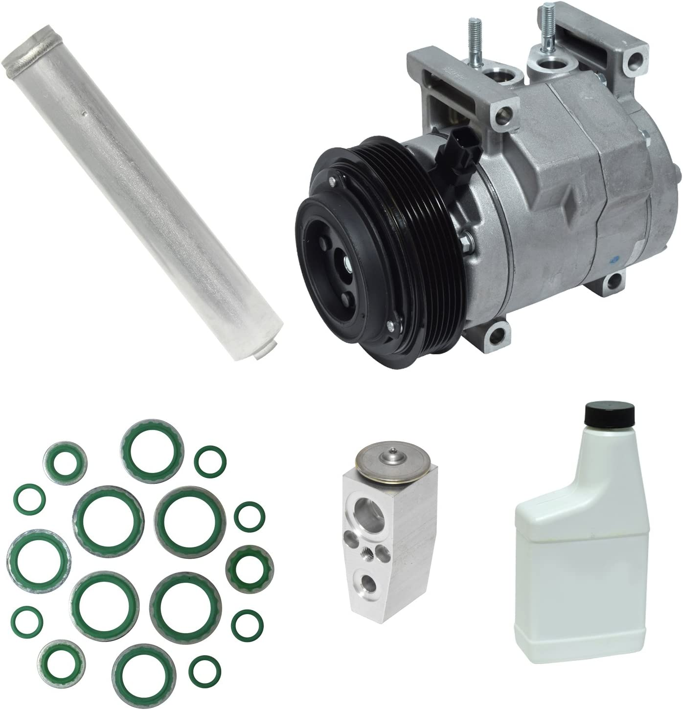 Super-cheap Indefinitely UAC KT 4946 A C and Compressor Component Kit