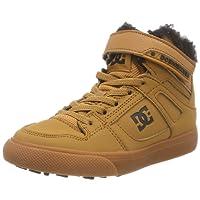 DC Shoes Pure High Top Winter, Chaussures de Skateboard garçon