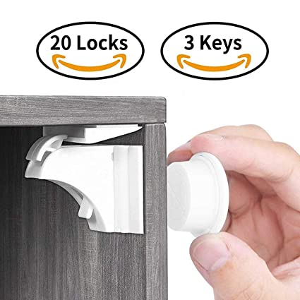 Magnetic Cabinet Safety Lock 3+child Safety Corner Guards 10+plug Socket Cov 10 Less Expensive Other Baby Safety & Health