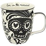 Karma Gifts KA101829 Black and White Mug Sugar Skull