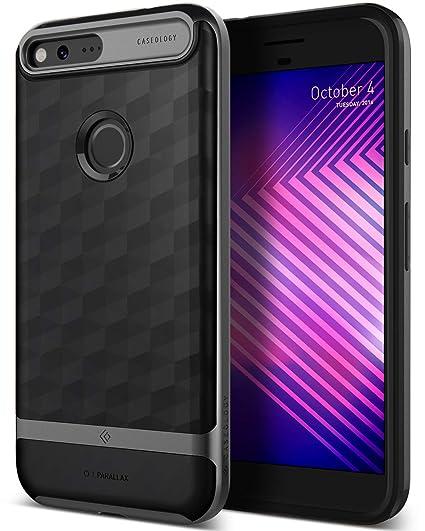 save off d62a5 db739 Caseology Parallax for Google Pixel Case (2016) - Award Winning Design -  Black
