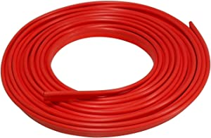 Lumision 16.4 FT (5 Meters) Flexible 3D DIY Automobile Car Motor Interior Exterior Decoration Moulding Trim Strip Line (Red)