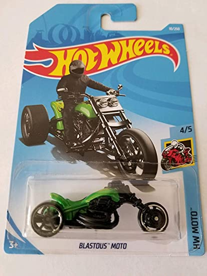 2019 HW Moto Hot Wheels Blastous Moto