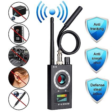 Anti Spy RF Camera Detector, Wireless Signal Bug Detector for Hidden Camera Pinhole Laser Lens