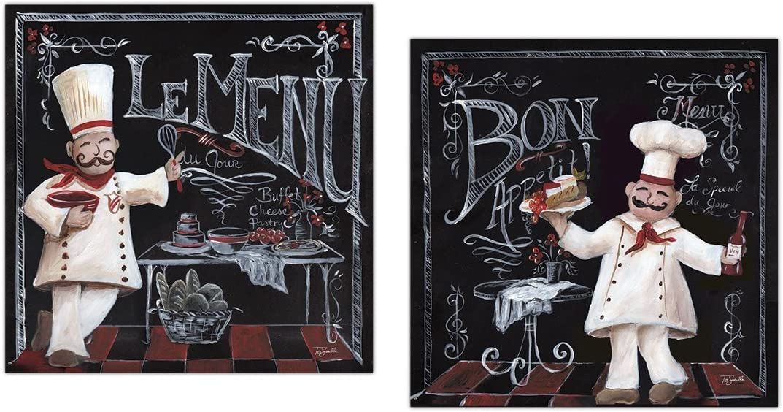 Lovely Chalkboard-Style French