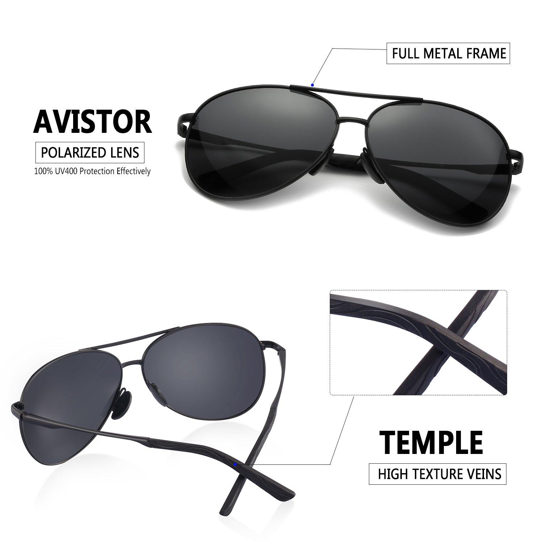 046b4ca3c315 Amazon.com  Polarized Aviator Sunglasses for Men - Feirdio Metal Frame  Sports UV 400 Protection Mens Women Sunglasses 2261( black)  Shoes