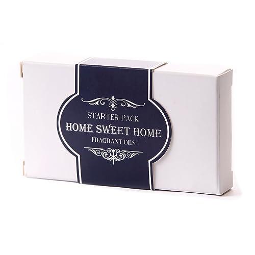 Mystic Moments | Fragrant Oil Starter Pack - Home Sweet Home - 5 x 10ml