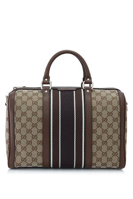 a9b9c5960485 GUCCI Original GG Canvas Web Boston Handbag Purse Bag 247205  Amazon.ca   Shoes   Handbags