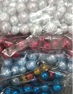 5 Packs Small Multicolor Thermocol Balls Art And Craft, Decoration.