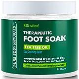 Pure Body Naturals Therapeutic Epsom Salt Foot Soak with Tea Tree Oil, 20 Oz