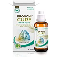 GREENCURE Herbal Syrup for Asthma, Bronchitis, Wheezing, Smoker's Lung -German Design , 50 ml