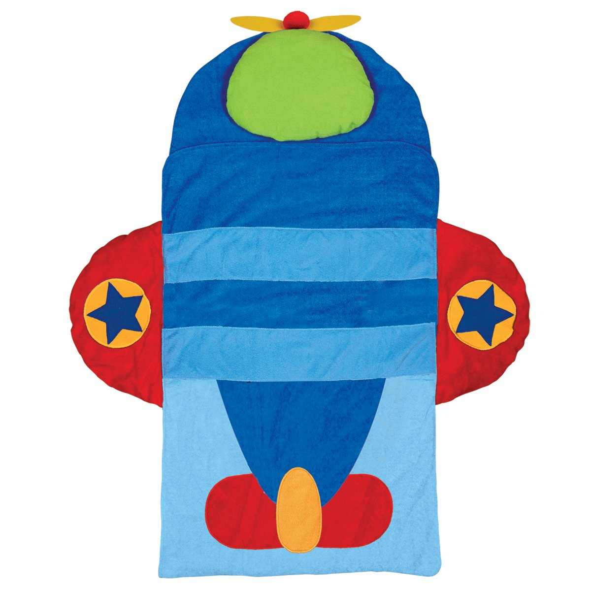 Stephen Joseph Airplane Nap Mat, Blue/Red SJ770181