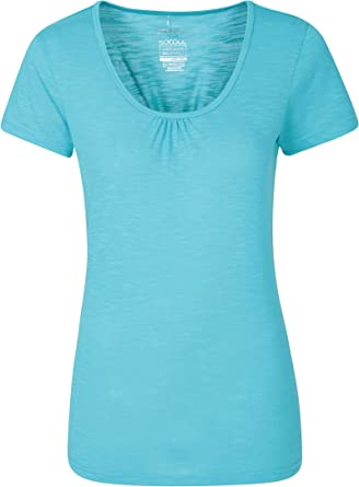 Mountain Warehouse Womens Lightweight Breathable Tshirt with IsoCool Fabric