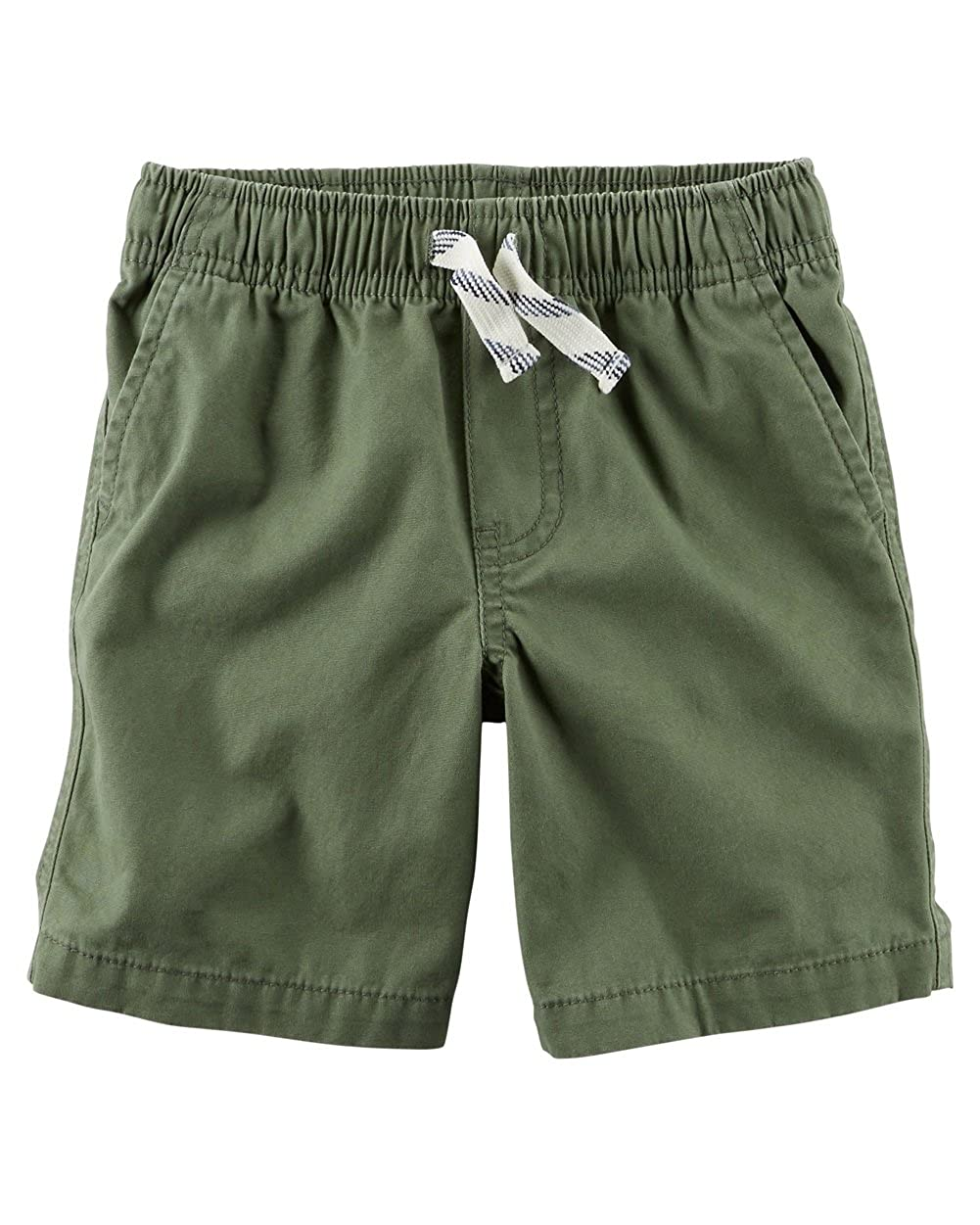 Carter's Boys' Pull-On Canvas Shorts