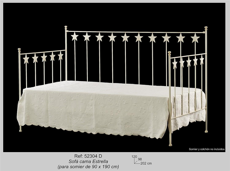 Art-Domus - 52304 - Sofa Cama Estrella. Colchón Y Somier No ...
