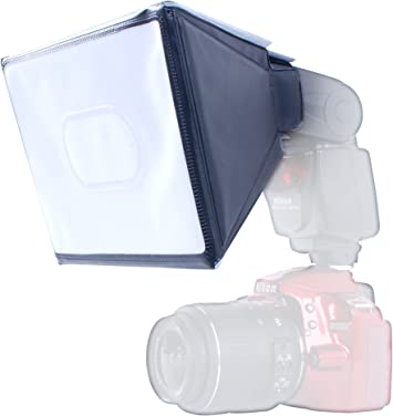 Size: 14.5cm X 13cm Movo Photo SB17 Universal Softbox Flash Diffuser for External Camera Flashes