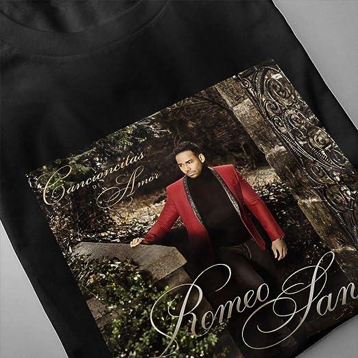 Pzrruot Romeo Santos - Camiseta de manga corta para hombre ...