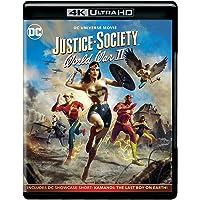 LA SOCIEDAD DE LA JUSTICIA DE AMERICA: SEGUNDA GUERRA MUNDIAL 4K BR (blu_ray) [Blu-ray]