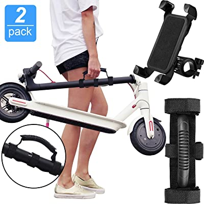 Portable Hand Carrying Handle Straps Carrying Handle Bandage Belt Webbing Scooter Carrying Accessories and Bicycle Phone Holder for Xiaomi M365 Mi Ninebot Electric Scooter Goods ES1/ ES2/ ES3/ ES4 : Sports & Outdoors