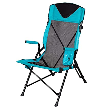 MM Members Mark - Silla ergonómica con Respaldo Alto, Color Verde Azulado
