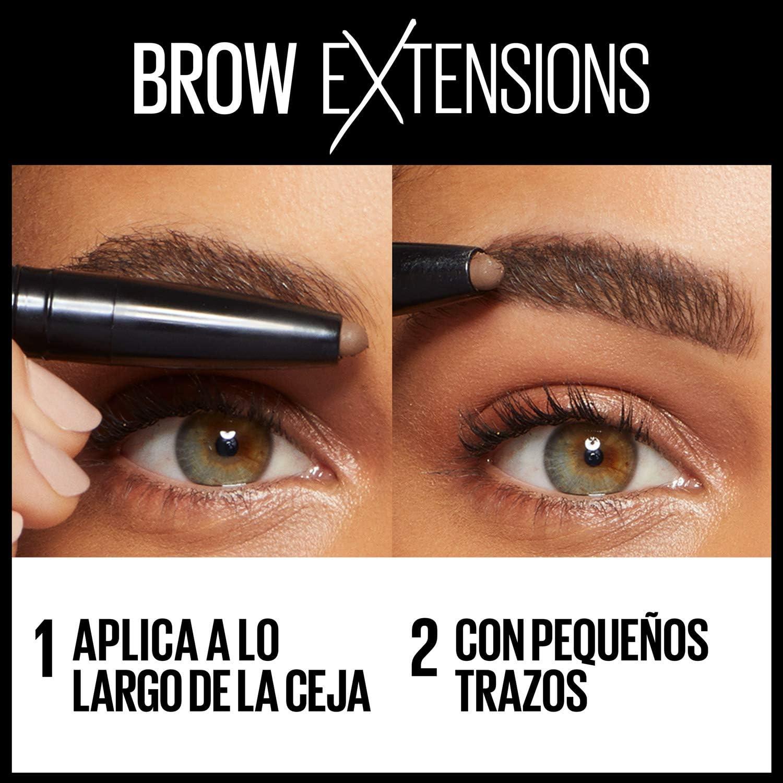 Maybelline New York Brow Extensions Stick de Cejas Tono 06 Deep Brown