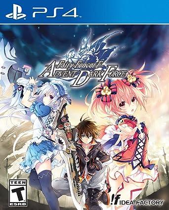 Atlus Fairy Fencer F Advent Dark Force Ps4 Basico Playstation 4