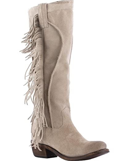 Women's Junk Gypsy by Sand Texas Tumbleweed Boot Round Toe - Jg0choc