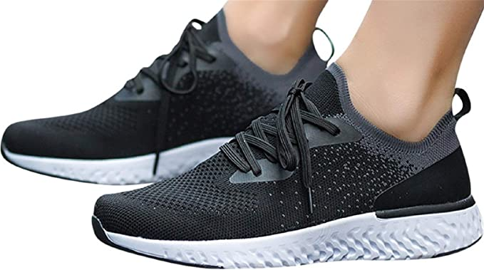 NEEKEY Shoes for Women Leisure CouplewomenS Outdoor Mesh Sports Shoes Run Breathable Shoes Sneakers