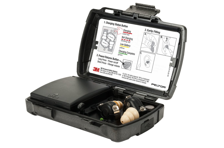 3M Personal Protective Equipment PELTOR 93824 Tactical Earplug, TEP-200