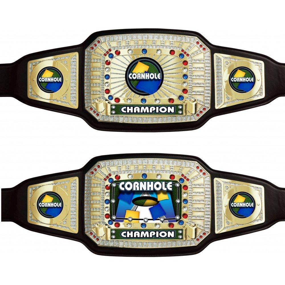 Cornhole Championship Award Belt by TrophyPartner