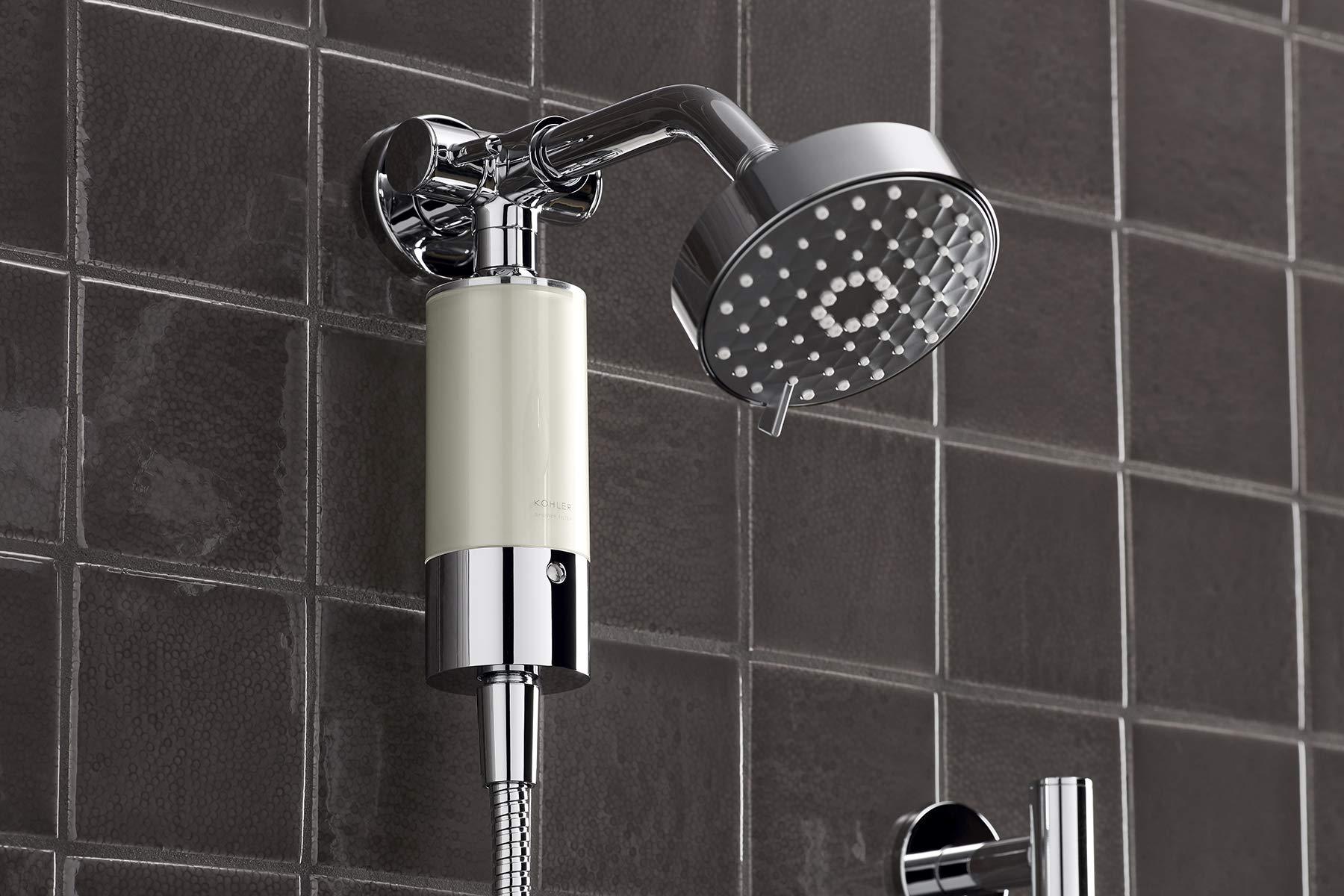 Kohler 30646-CP Aquifer Shower Water Filtration System, Reduce Chlorine and Odor, Includes Filter Replacement by Kohler (Image #5)