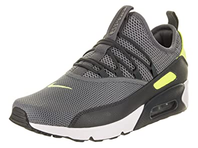 new concept e2d5a 59fbd Nike Mens Air Max 90 EZ Running Shoes Cool Grey Volt Anthracite Black