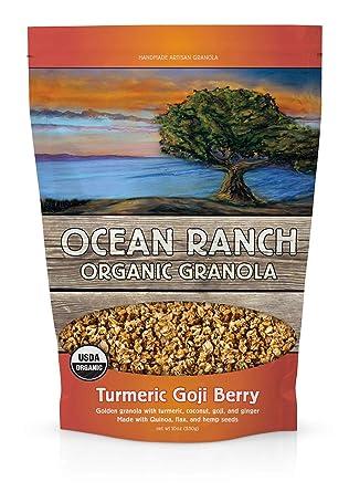 Amazon Com Organic Turmeric Goji Berry Granola Turmeric Goji