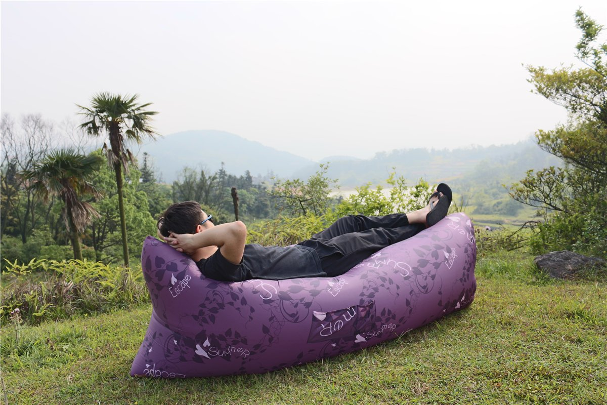 Inflatable Lounger Hammock Por...