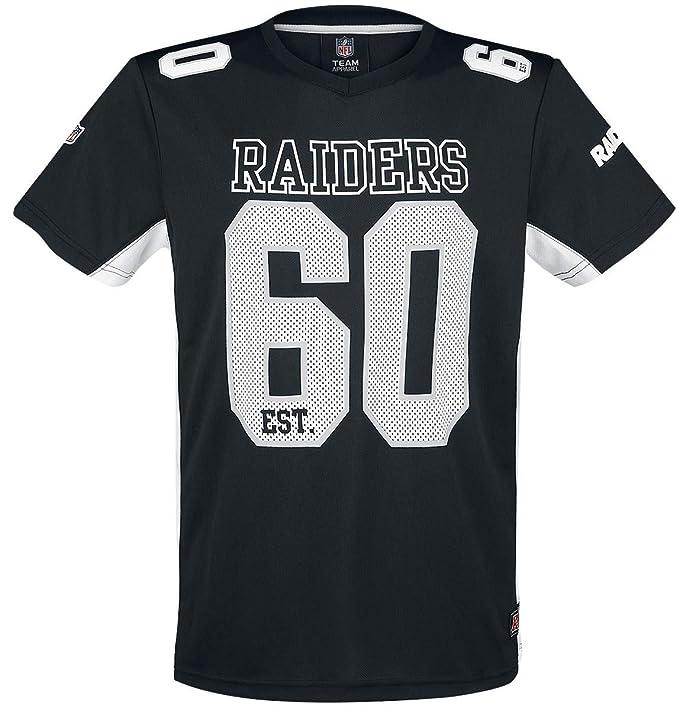 NFL Oakland Raiders Camiseta Negro M  Amazon.es  Ropa y accesorios de5bd640df1