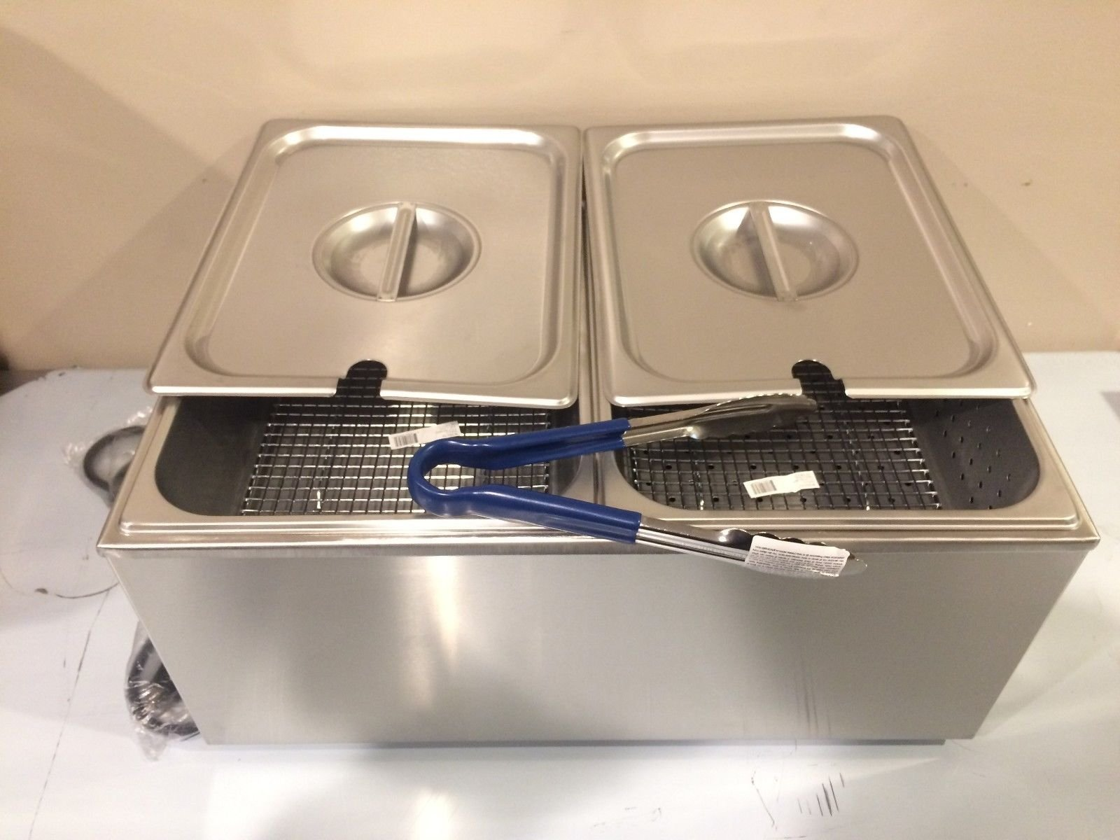 Commercial Table Counter Top Hot Dog Steamer & food Bun Warmer Cooker NSF Approved! ETL Listed