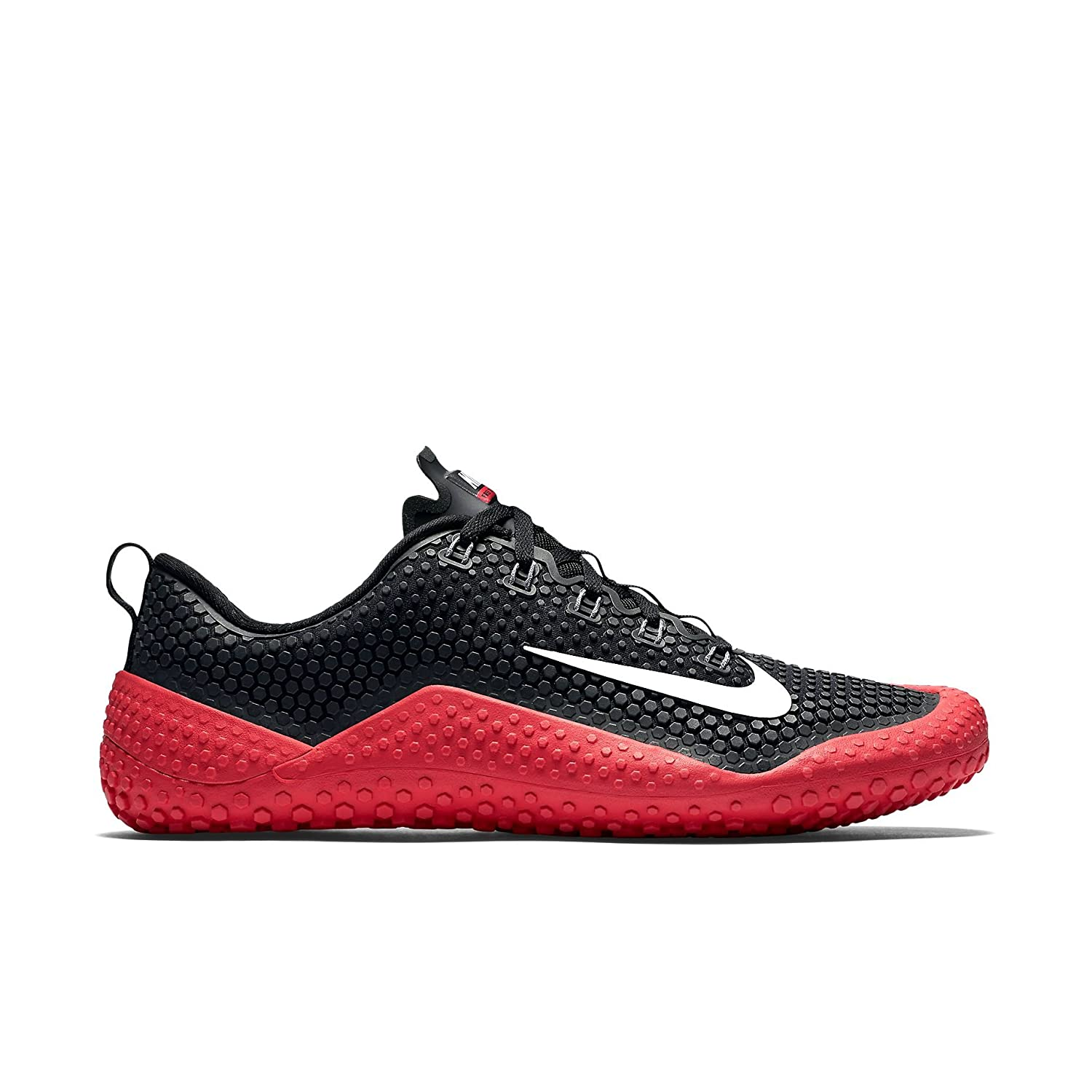 9f34769fcd15 Nike Men s Free Trainer 1.0 Black red White 807436-010 (Size  11)  Amazon.ca   Shoes   Handbags