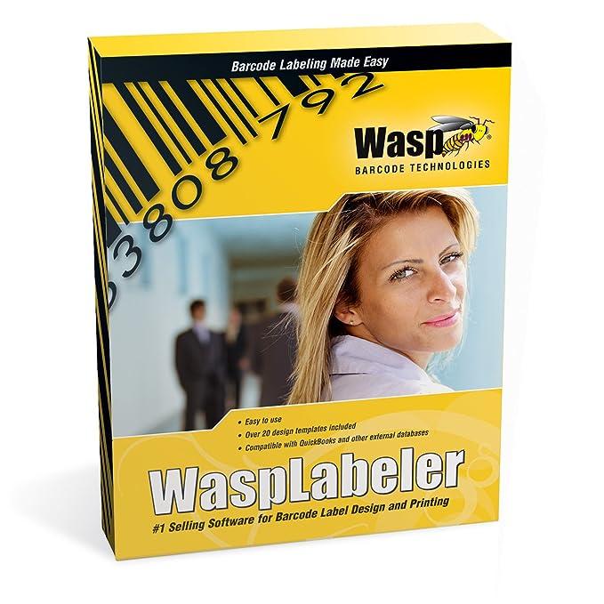 Amazon com: Wasp Labeler - Barcode Label Design Software