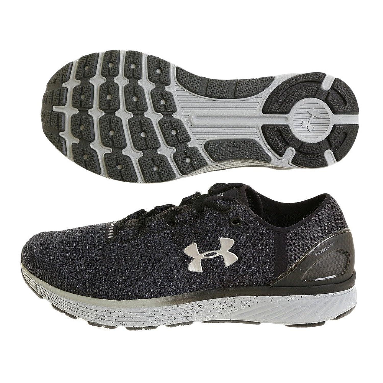 Under Armour(アンダーアーマー) メンズ 男性用 シューズ 靴 スニーカー 運動靴 Charged Bandit 3 - Stealth Gray/Black/MSV [並行輸入品] B07BKTPF8N 7.5 D - Medium
