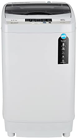 BPL 6.2 kg Fully-Automatic Top Loading Washing Machine (BFATL62K1, Grey)