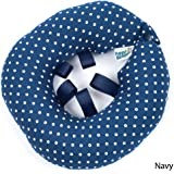 """Puppy Bumper - Keep Your Dog on the Safe Side of the Fence -Navy Dot -10-13"""""""