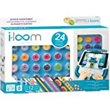 i-loom 24 spools of colored string