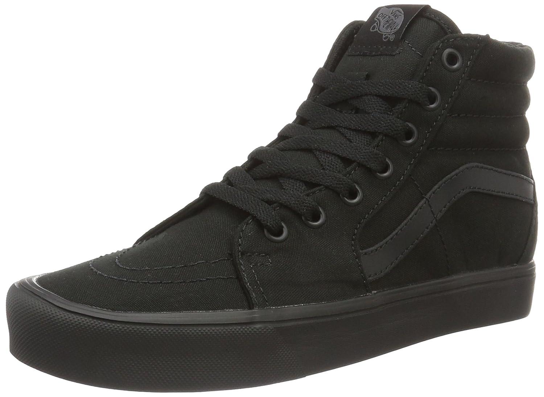 Vans Unisex-Erwachsene Sk8-Hi Lite Hohe Sneaker, (Canvas) Black/Black  42 EU|Schwarz (Canvas)
