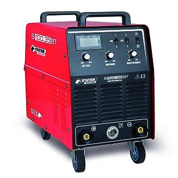 Stayer Welding - S 100.35 Bt Inverter Mma Soldadura Por Electrodo ...