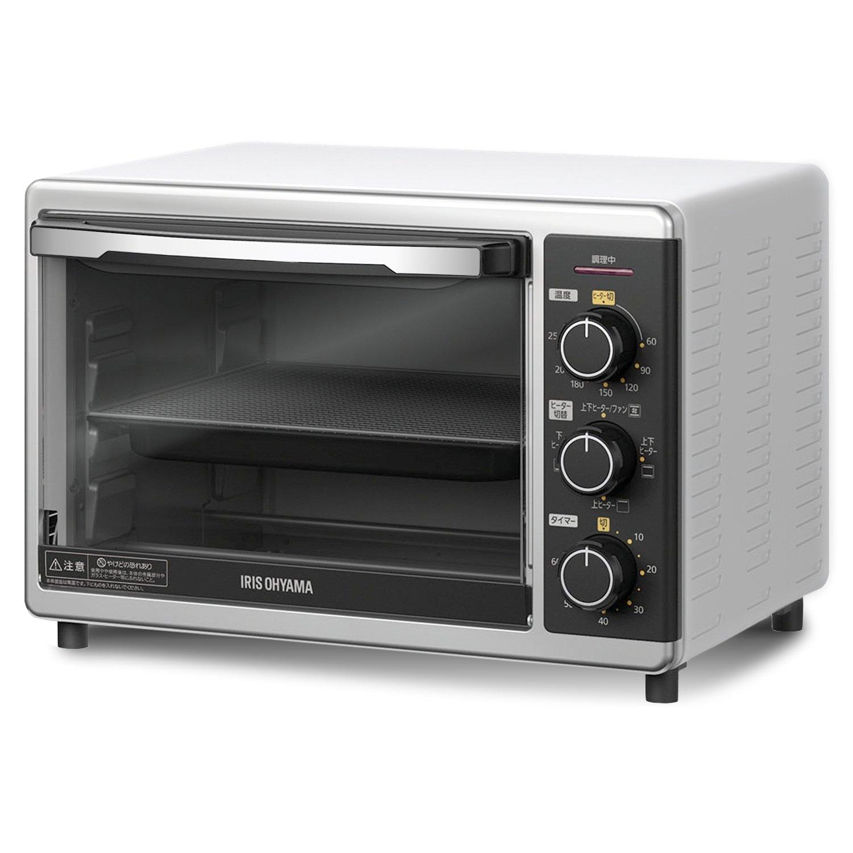 アイリスオーヤマ コンベクションオーブン 15L PFC-D15A-W product image