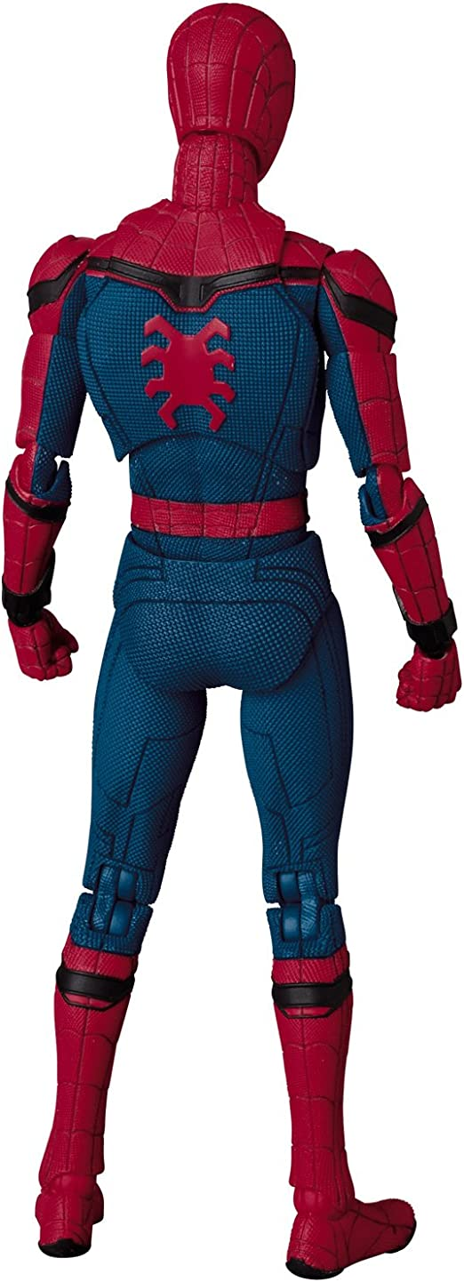 Mafex Nº 47 Spider-Man Homecoming ACTION FIGURE COLLECTION FIGURINES Medicom Jouet