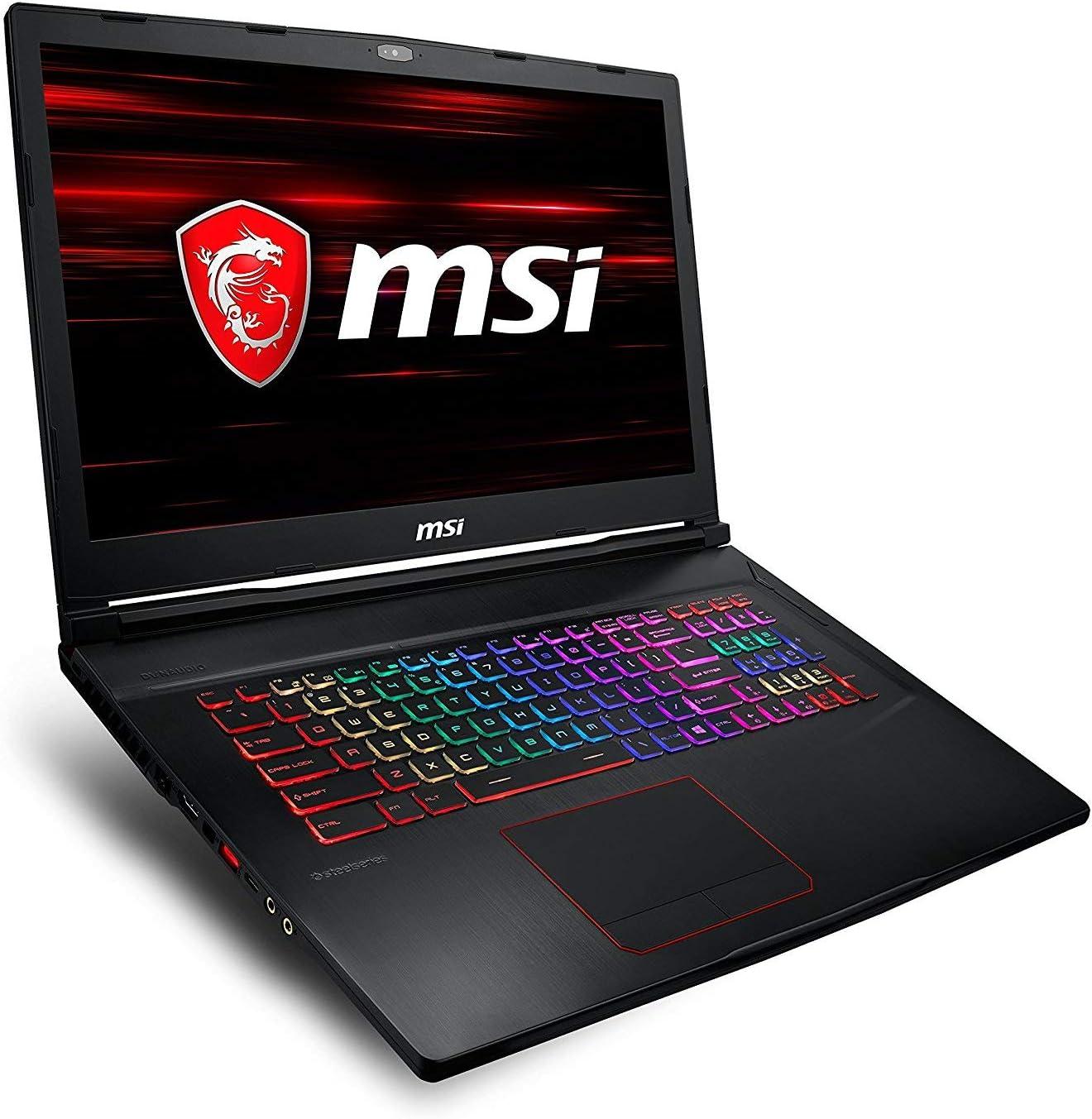 "MSI Gaming GE73 8RE-466ES Raider RGB Nero Computer portatile 43,9 cm (17.3"") 1920 x 1080 Pixel 2,2 GHz Intel® Core™ i7 di ottava generazione i7-8750H"