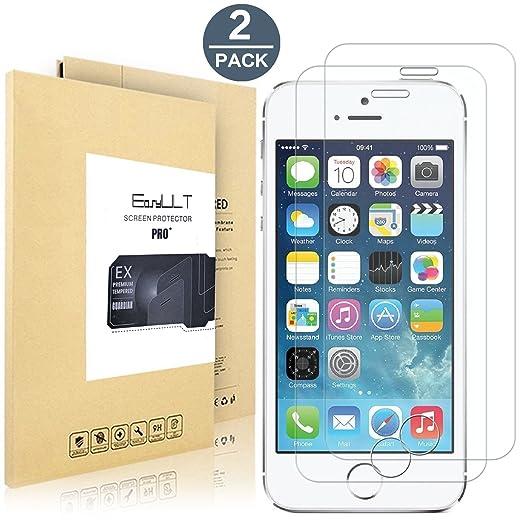 16 opinioni per [2-Pack]iPhone SE/5/5s/5c Pellicola