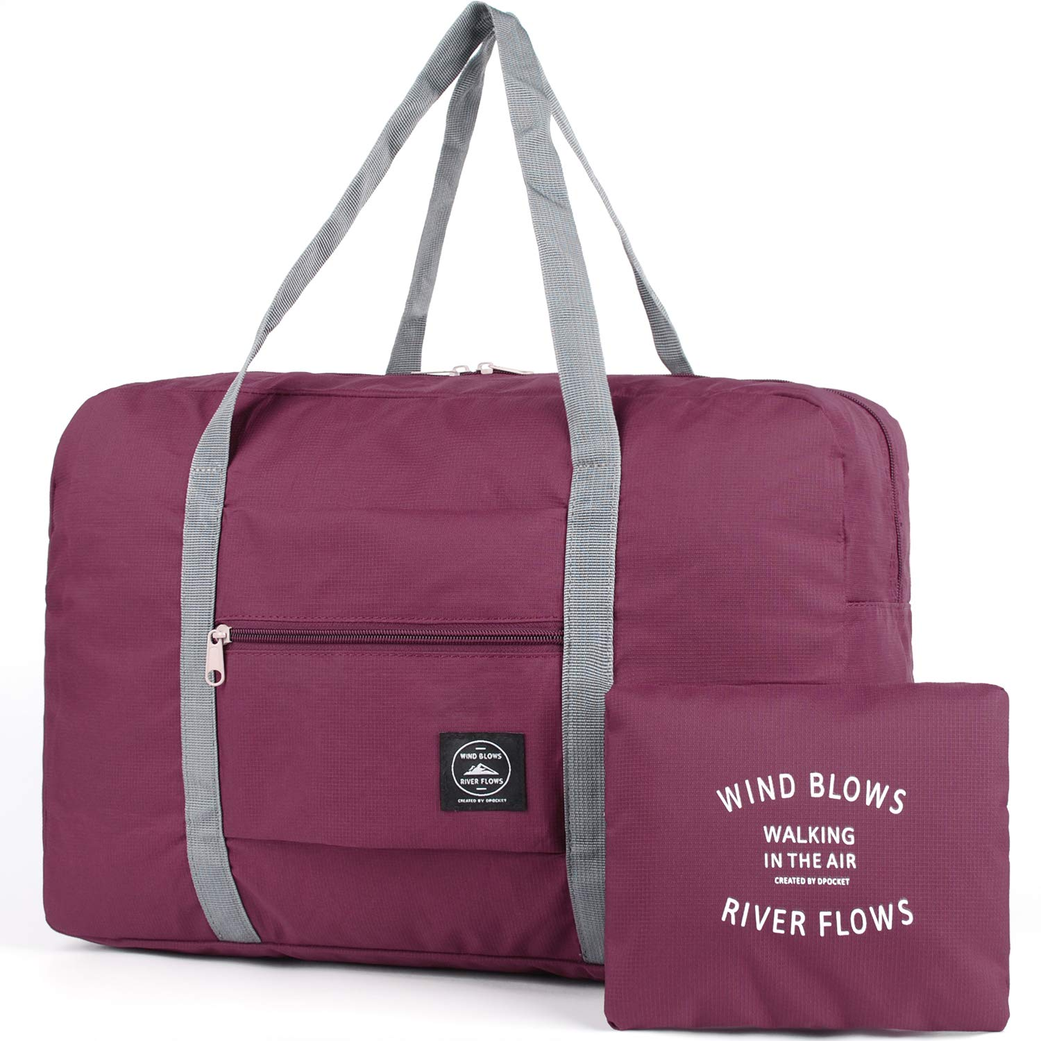 Packable Travel Duffel Bag Tote Carry on Luggage Weekender Overnight Sport  Duffle for Kids Girls Women  Amazon.co.uk  Sports   Outdoors 3766a5063d